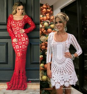 С мечтой о Рио - бразильские платья крючком от Katia Portes