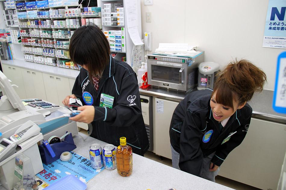 Японский мини-маркет (фото)