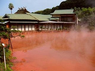Горячие источники в Японии
