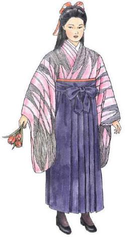 Традиционная одежда. Период Meiji/Мэйдзи (1867-1912)