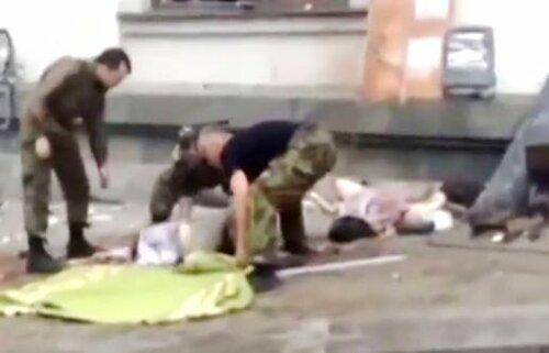 убиты мирные жители Луганска