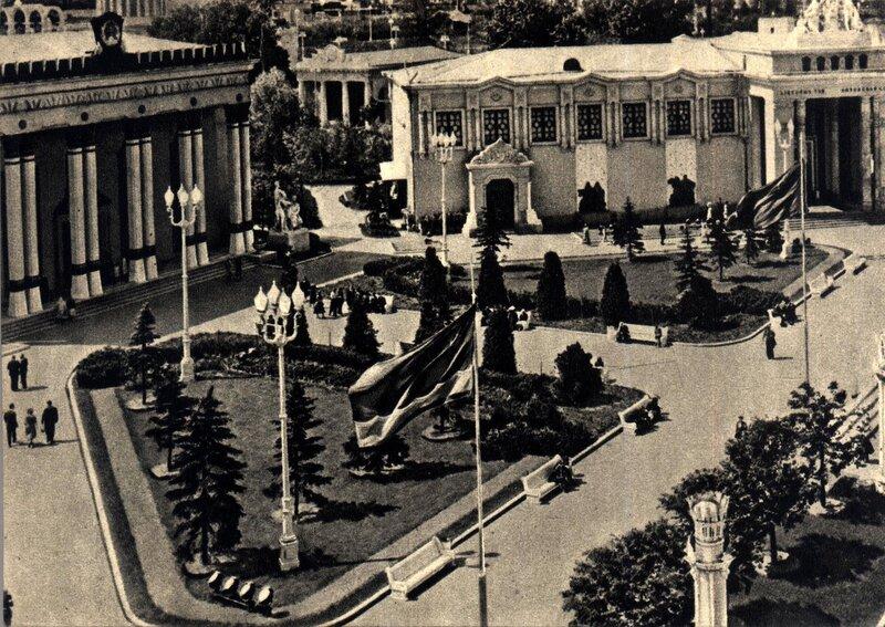 ВСХВ 1957 - павильоны Латвийской ССР и Литовской ССР.jpg