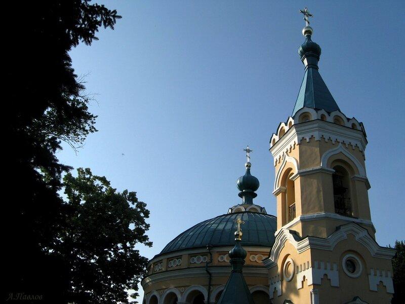 Унгены - храм Александра Невского (12).JPG