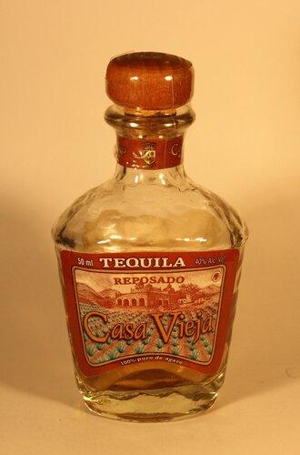 Текила Tequila Casa Vieja Reposado 100% Puro de Agave
