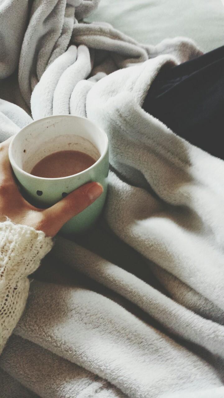 кофе ноги кровать