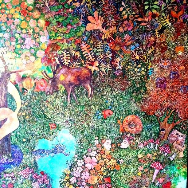 Русско-американская графика Кати Гоа / Katia Go5a8a. 35 работ