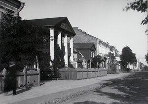 Вид жилых домов на Шоссейной улице.