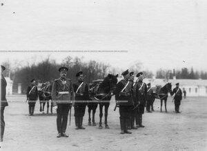 Пулеметная команда  1-ого стрелкового  батальона .
