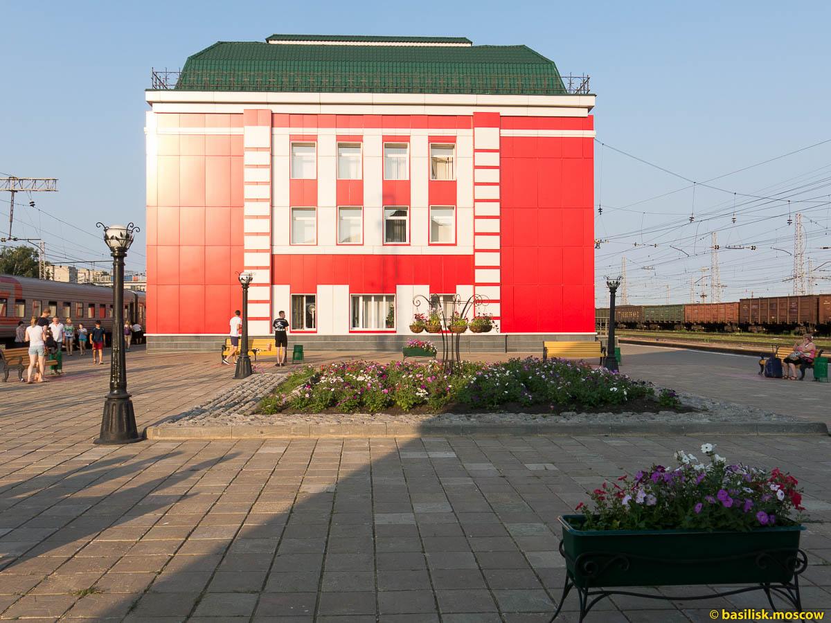 Поезд Самара - Москва.  2015.