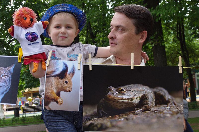Ярушка и Егорка на ФотоСушке