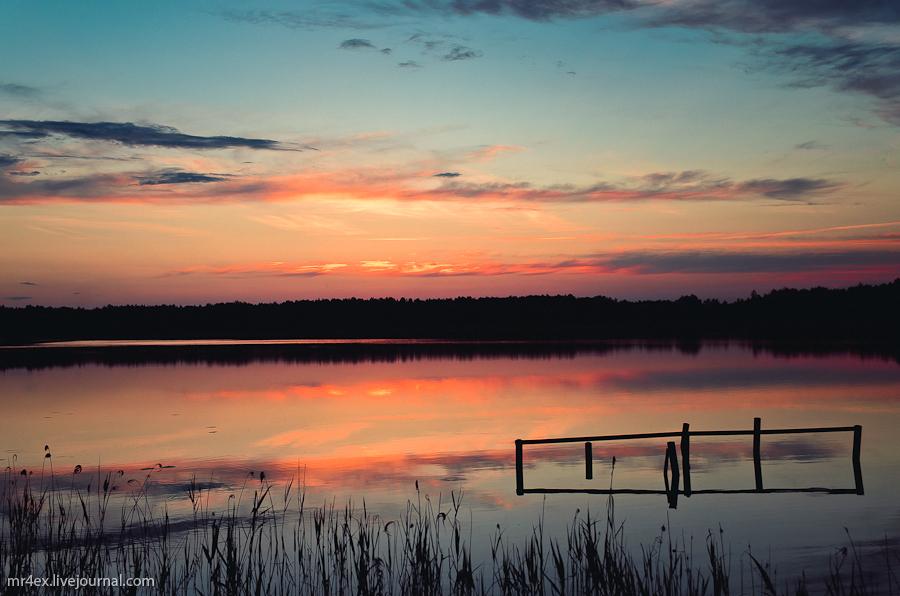 Браслав, Браславские озера, закат, пейзаж