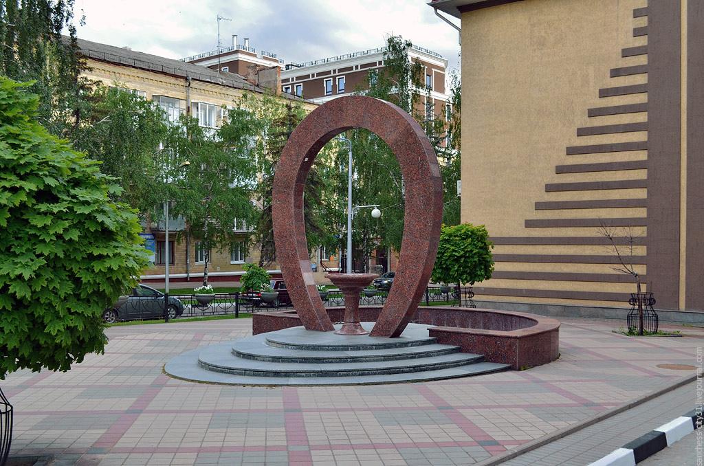 "фонтан ""Арка славы"", Белгород, фото Sanchess"
