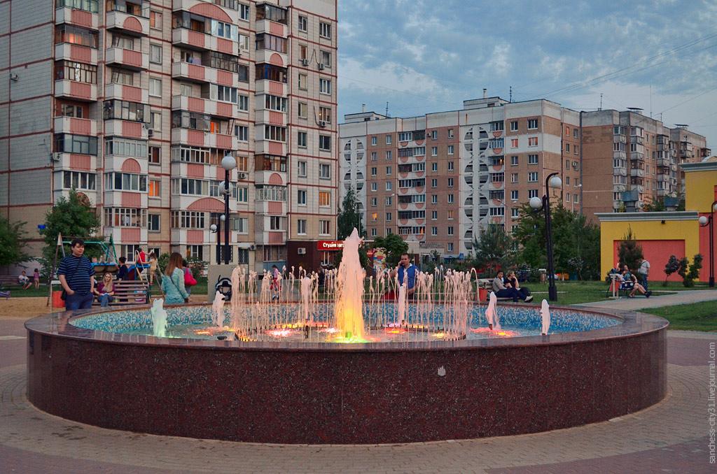 фонтан на ул. Конева, Белгород, фото Sanchess