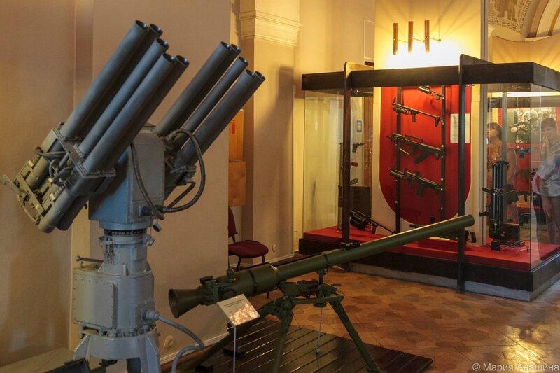 Экспозиция Тульского музея оружия