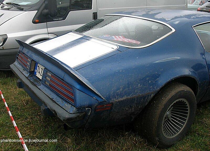 Pontiac Firebird Mk2 (1974–76)