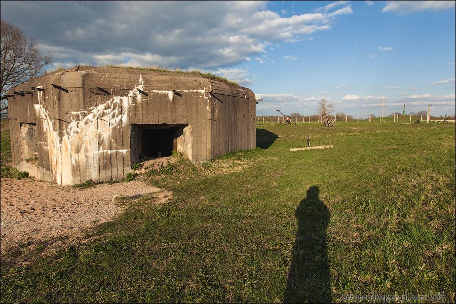 Линия Сталина - Островской укрепрайон