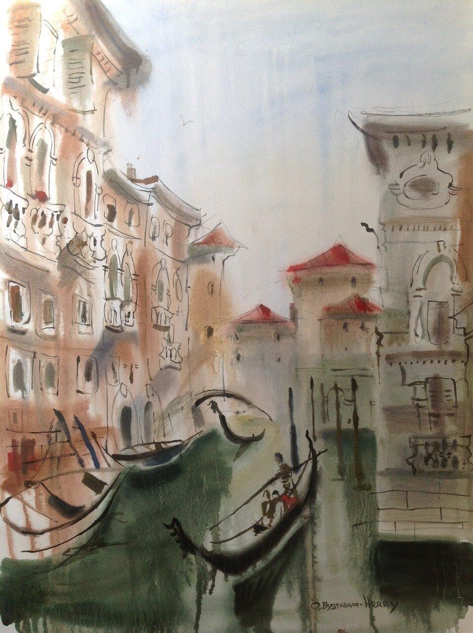 Venise. A voir a la galerie Atelier 28