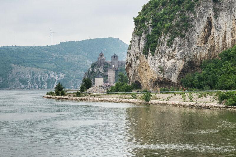 крепость Голубац на Дунае, Сербия