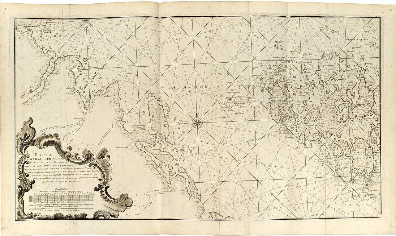 05.  Карта морская специальная