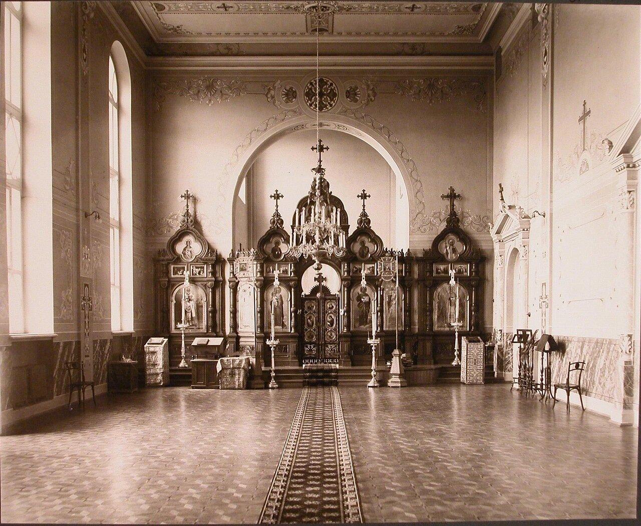 05. Общий вид алтаря домовой церкви института
