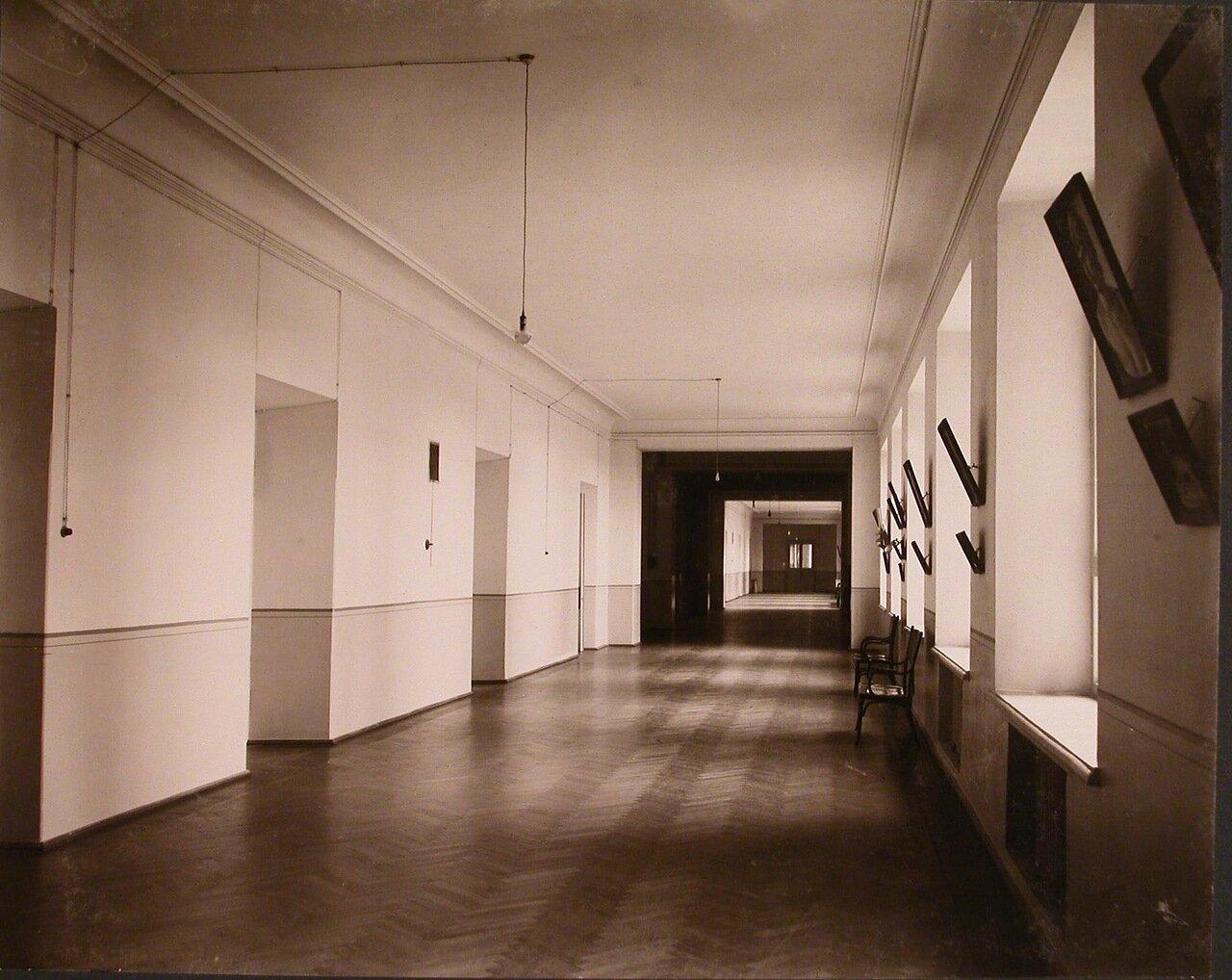 08. Перспектива коридора на одном из этажей института