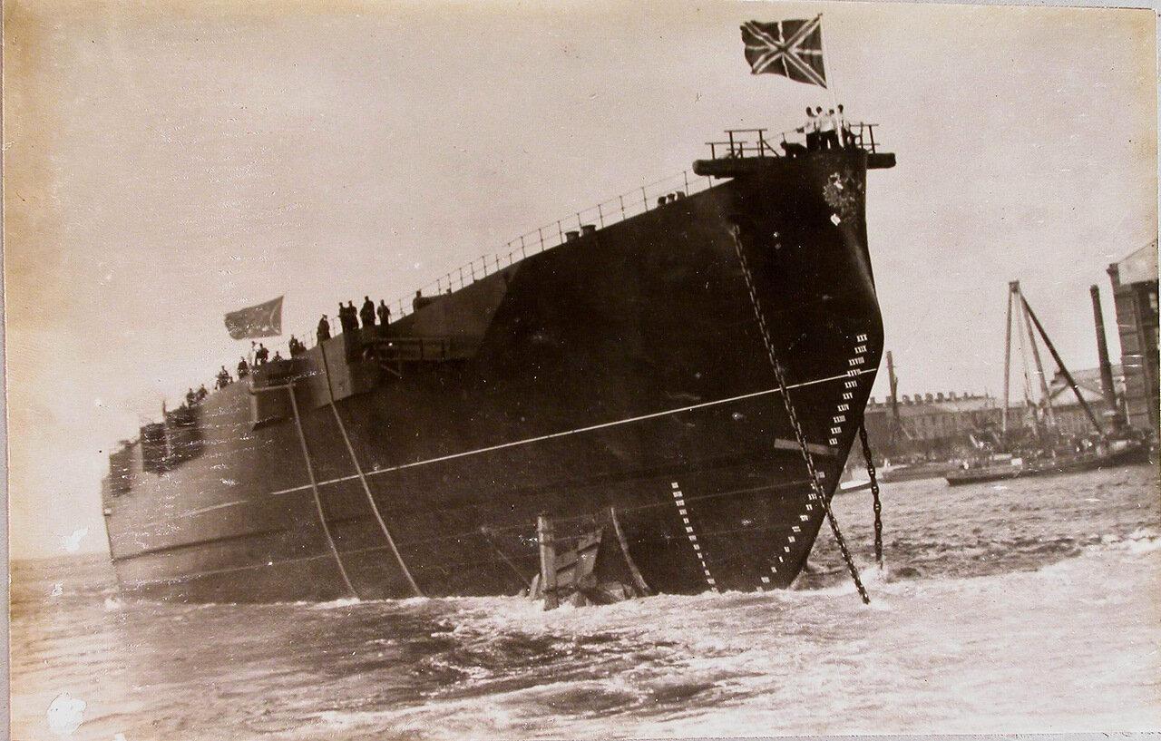 44. Линейный корабль «Полтава», спущенный на воду. 27 июня 1911 г.