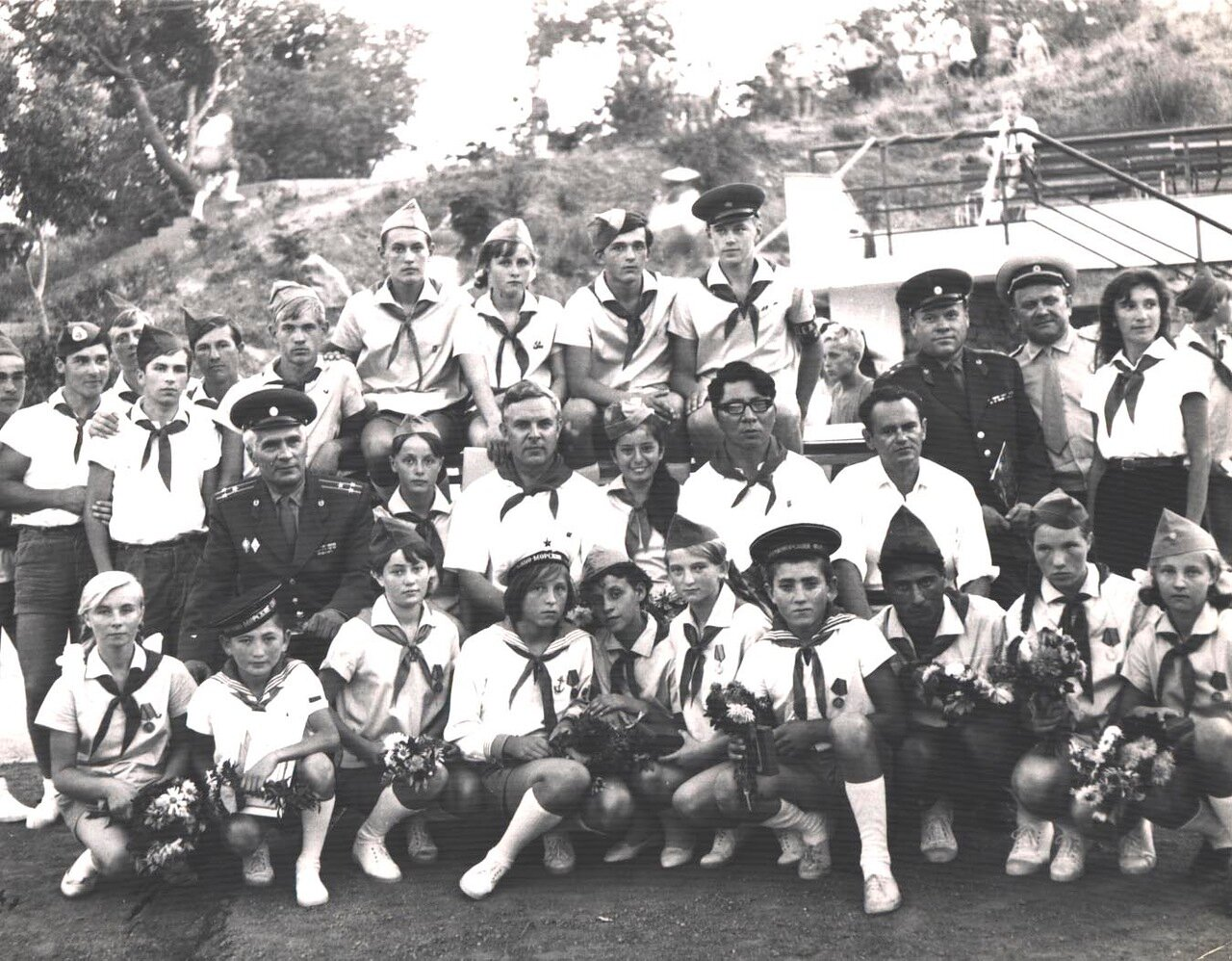 1960-е. Пионеры, награжденные за охрану госграницы