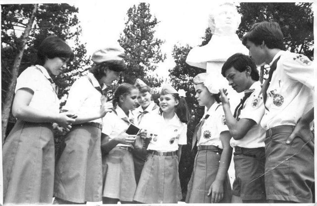 1983. Саманта Смит в Артеке