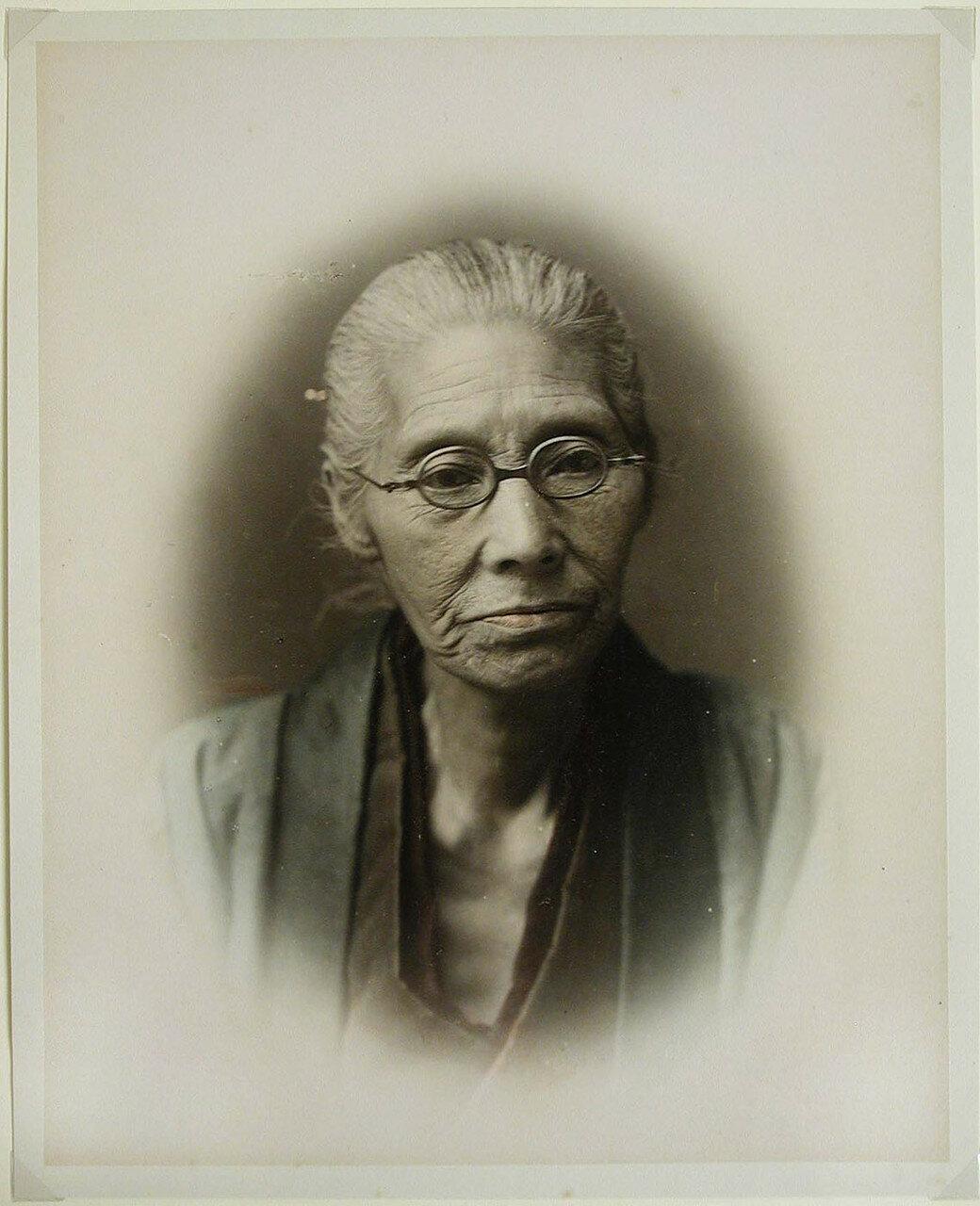 Портрет пожилой женщины. 1880