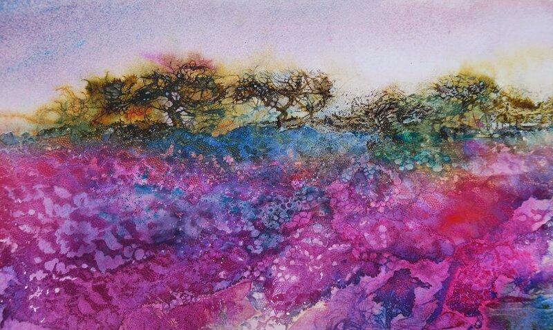 Lacy landscape