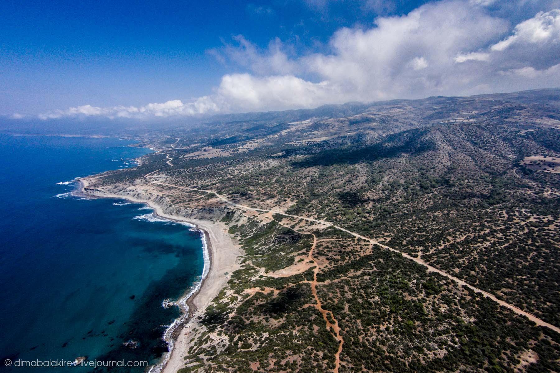 Природа Кипра. Заподведник Акамас.