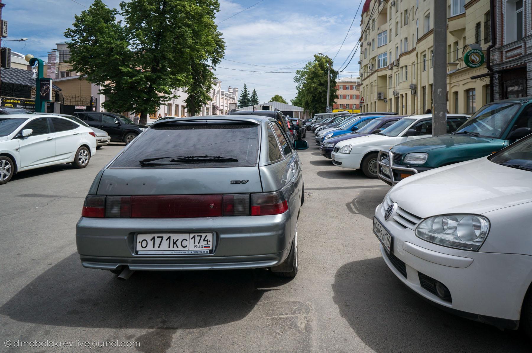 Козлы на парковке