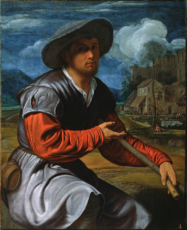 835px-Savoldo,_Giovanni_Girolamo_-_Shepherd_with_a_Flute_-_Google_Art_Project ок. 1525.jpg