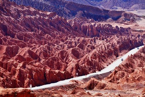 Дороги пустыни Атакама