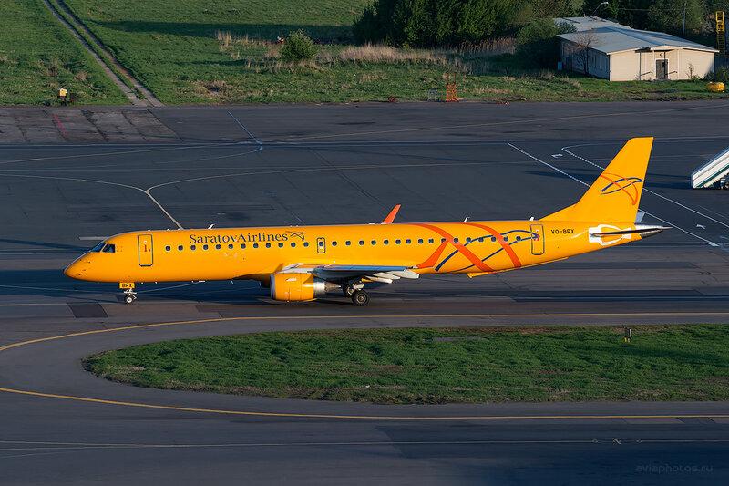 Embraer 190-200IGW (VQ-BRX) Саратовские Авиалинии D804729
