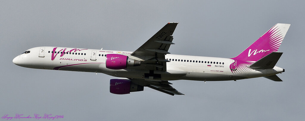 Boeing 757-230 VIM Airlines
