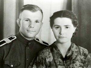 Письмо Гагарина жене Валентине