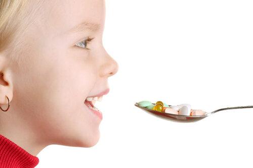 Важность витаминов для роста детей