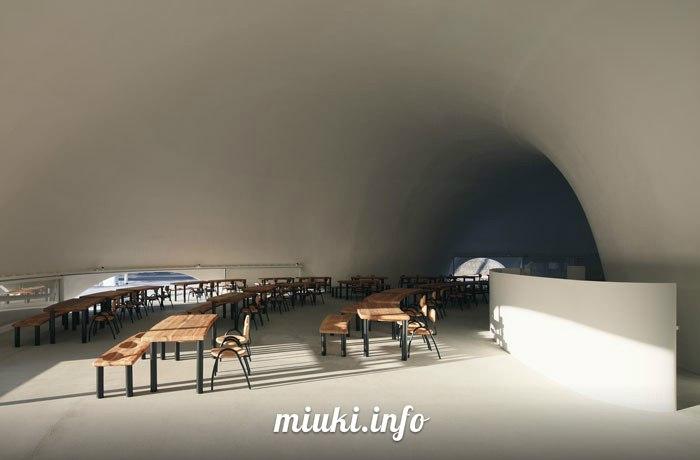 Ресторан Hoto Fudo в Японии
