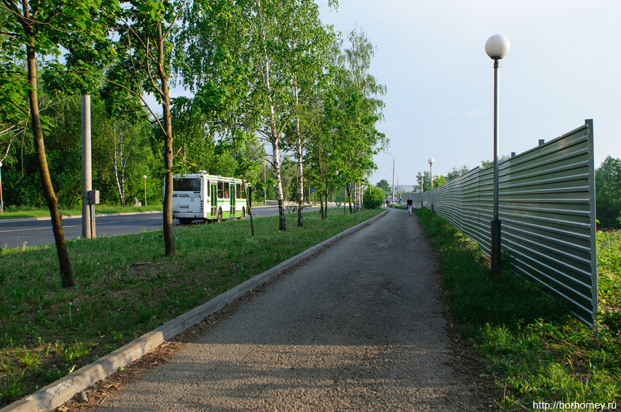 забор на Музрукова