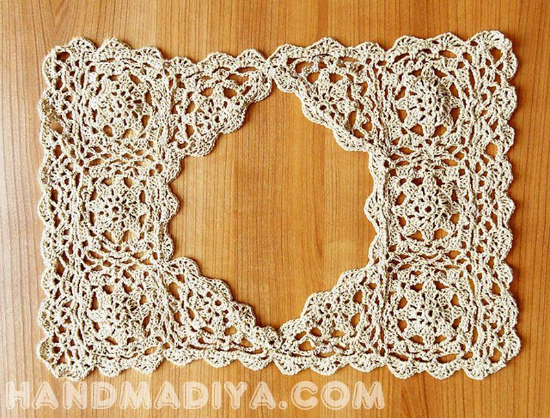 Летний топ с вязаным верхом. Crochet: light summer top