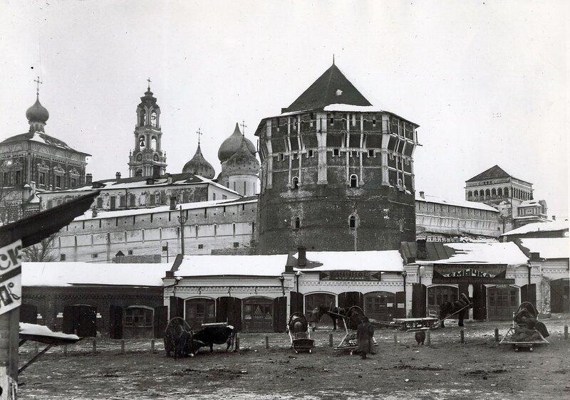Архивные фотографии по открытию Свято-Троицкой Сергиевой Лавры