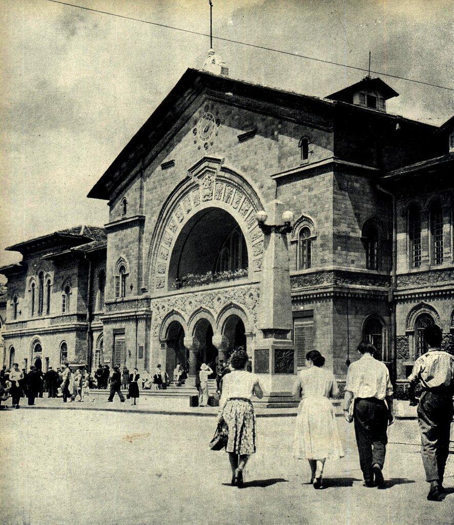 Кишинёв 1964. Вокзал.jpg