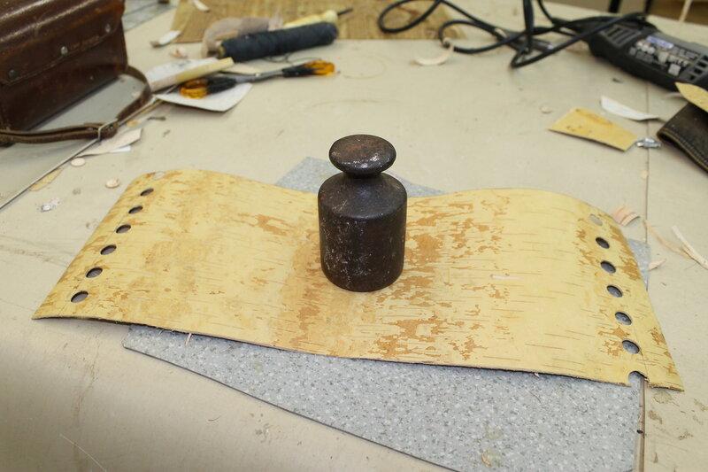 Изготовление туеска