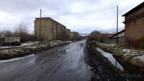 Фото города Инта №6780  Дзержинского 1 и Промышленная 21 23.05.2014_15:30