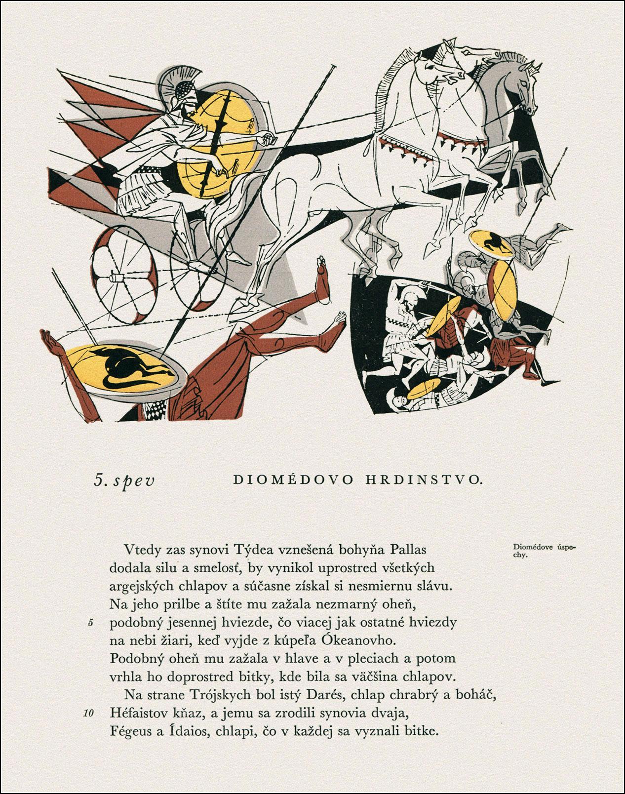 Vincent Hložnik, Ilias