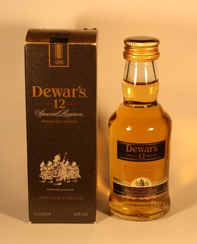 Виски Dewars 12 Special Reserve Blended Scotch Whisky
