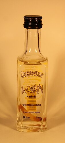 ???????? Cervovice Worm Spirit with Tequila Flavor