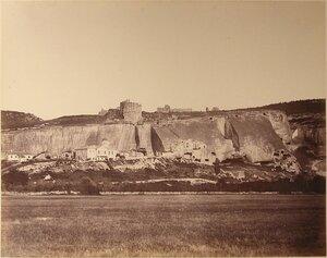 Вид на Инкерманский скит Свято-Климентовского монастыря близ Инкермана.