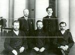 Группа депутатов Второй Государственной думы от Вологодской губернии:стоит слева Волоцкий К.М.